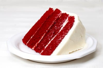 what flavor is red velvet cake