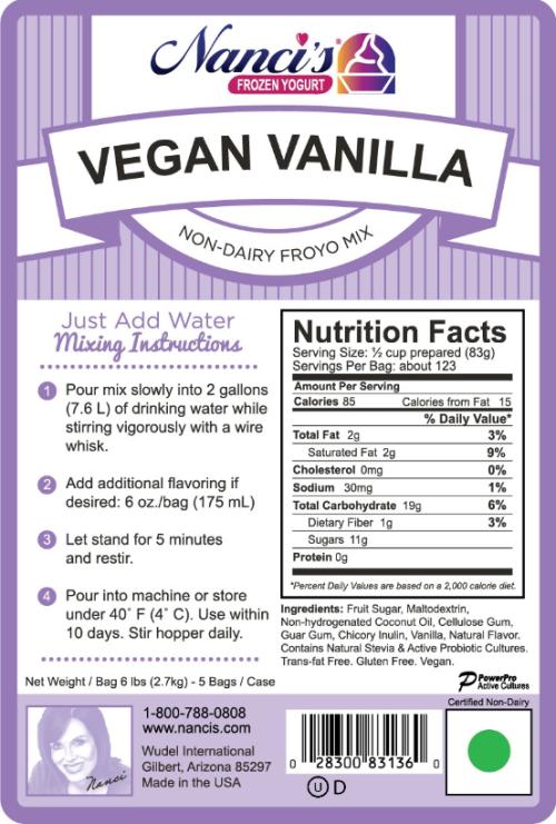 Vegan Vanilla Base