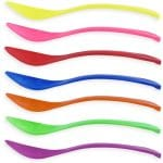 Frozen Yogurt Spoons Curve Variety