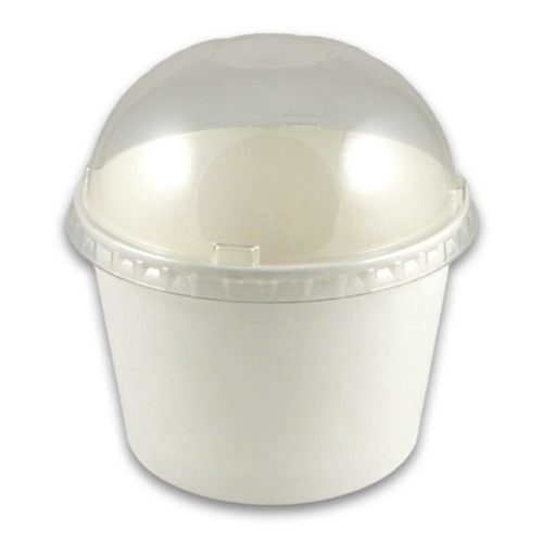 Frozen Yogurt Plastic Dome Lid