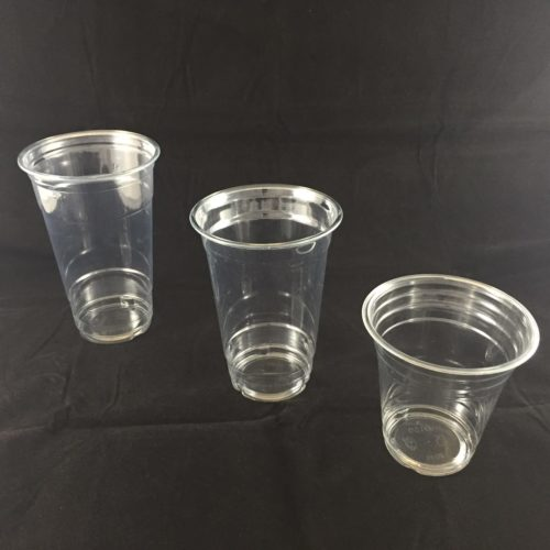 Plastic Drink Smoothie Cups 14 20 and 24oz Clear