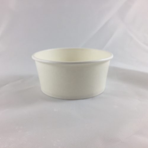 Frozen Yogurt Cup White