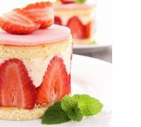 Strawberry Shortcake Flavor Concentrate for Frozen Yogurt