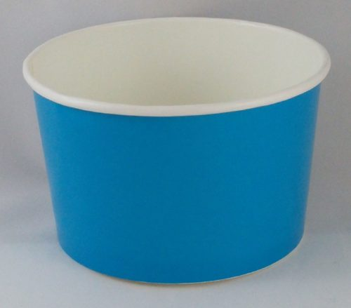 Frozen Yogurt Blue Cup 6oz