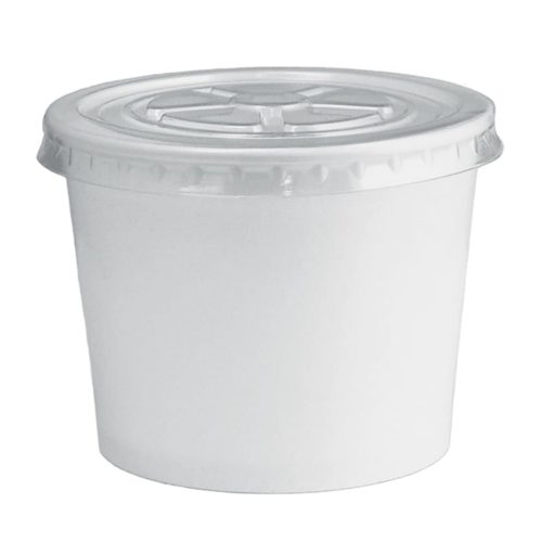 32oz FroYo Cup Lid PET