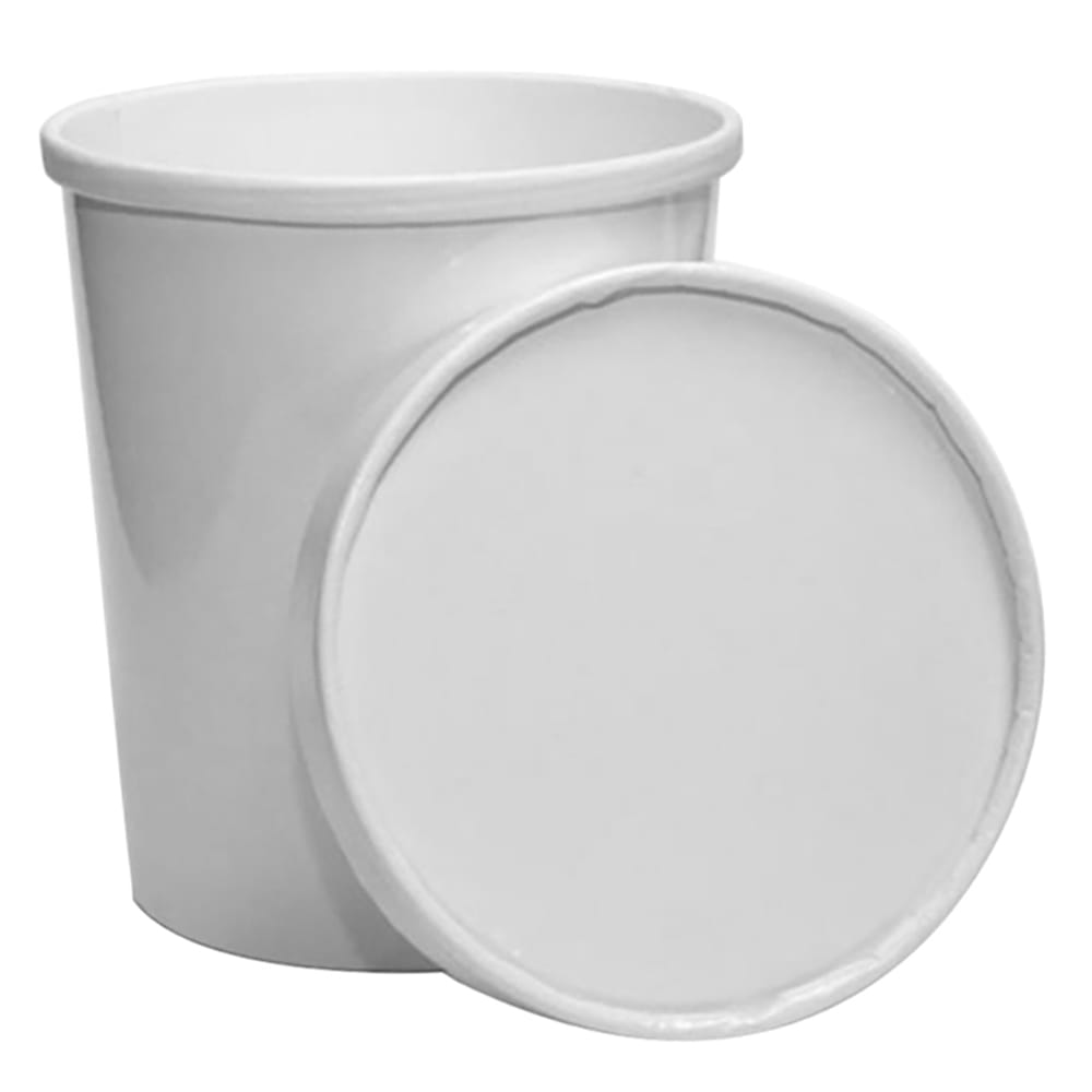 To Go Container Bundle 16oz Paper Cup With Paper Lid