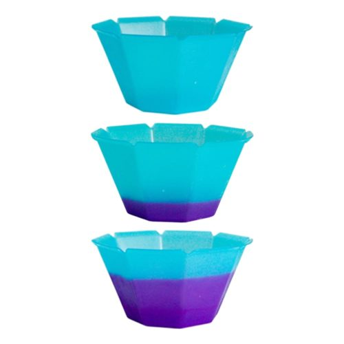 Gelato Cup Petali Color Changing Blue