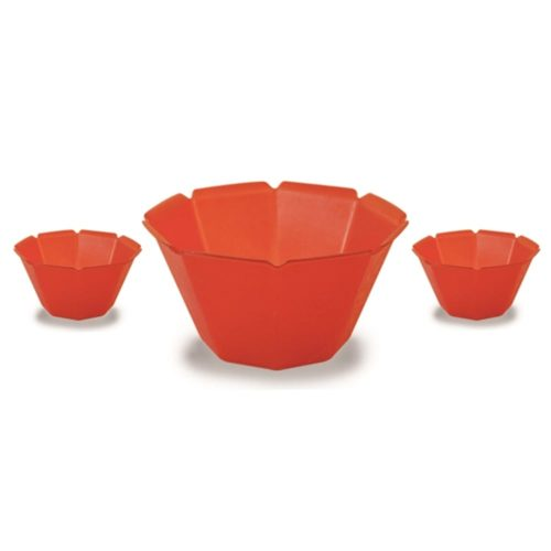 Gelato Cup Petali 6.8oz Red