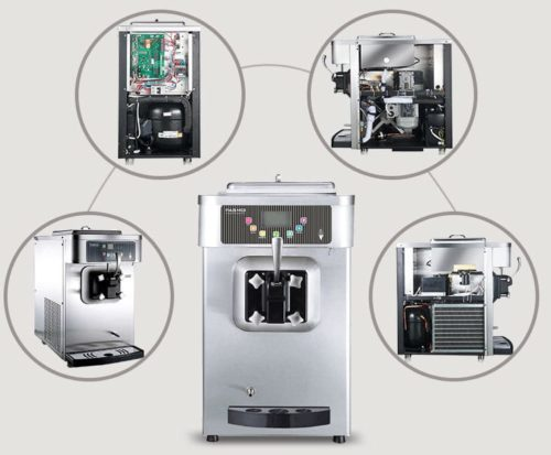 Pasmo Soft Serve Machine S110 Inside