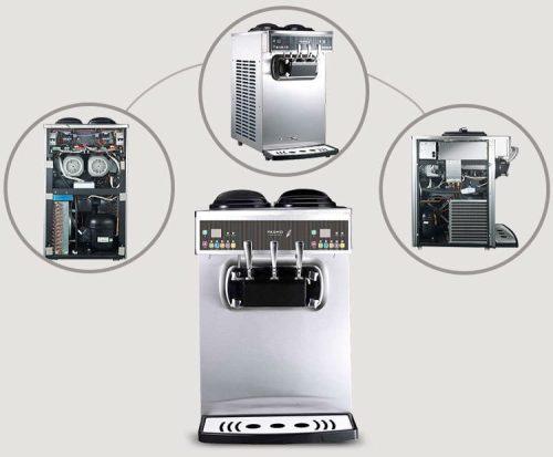 Pasmo Soft Serve Machine S230F Inside