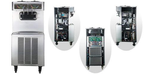Pasmo Soft Serve Machine S520 Inside