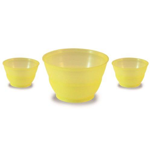 Gelato Cup Venere 3oz Yellow