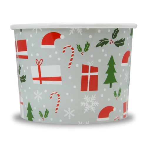 Yogurt Cups Happy Holiday 12oz