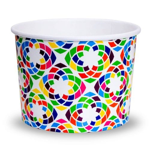 Yogurt Cups Kaleidoscope 12oz