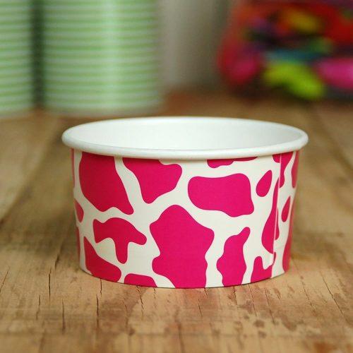 Yogurt Cups Pink Cow 8oz