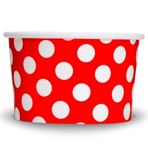 Yogurt Cup Red Dot 4oz