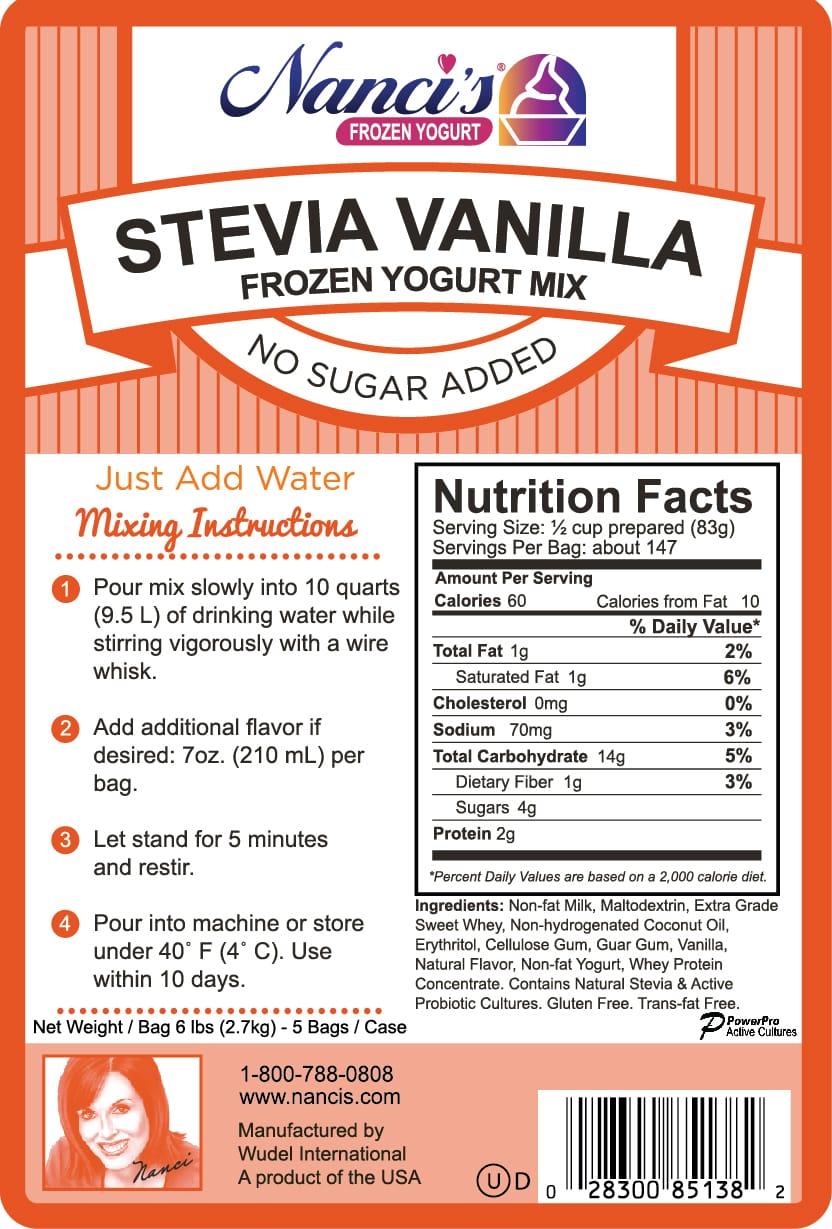 Stevia Vanilla - FroCup