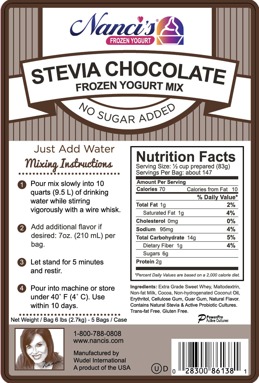Stevia Chocolate - FroCup