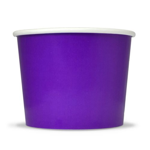 Yogurt Cup 12oz Purple