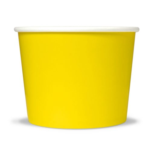 Yogurt Cup 12oz Yellow