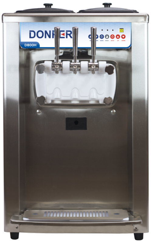 Soft Serve Machine Donper D800H-machine-web (counter)