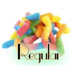 Topping Gummi Worms (Sour, Regular)