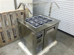 Drop-In Topping Bar Buffet Refrigerated JBT-48-3T
