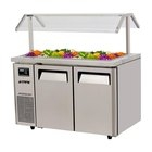 Topping Bar Island U2013 Refrigerated Buffet Table