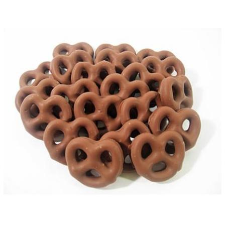 Topping Mini Chocolate Pretzels