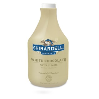 Ghirardelli White Chocolate Flavored Sauce