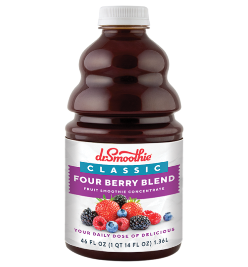 Dr. Smoothie Classic 46oz Pack Four Berry Blend