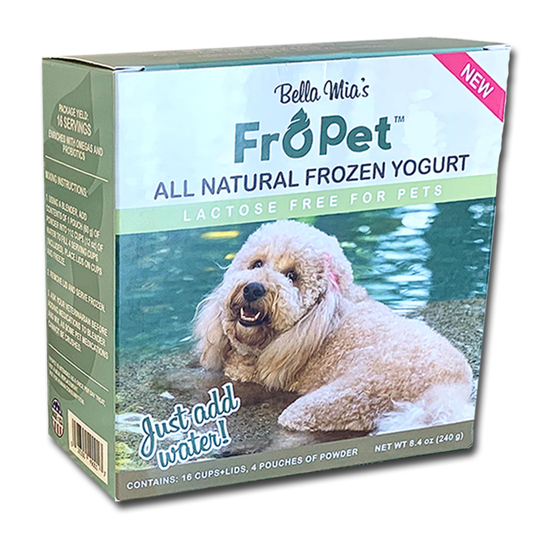 Frozen Yogurt For Dogs